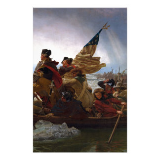 Washington Crossing The Delaware Stationery