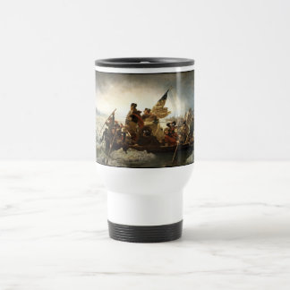 Washington Crossing The Delaware Travel Mug