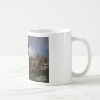 Washington Crossing the Delaware - US Vintage Art Coffee Mug
