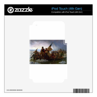 Washington Crossing the Delaware - US Vintage Art Skins For iPod Touch 4G