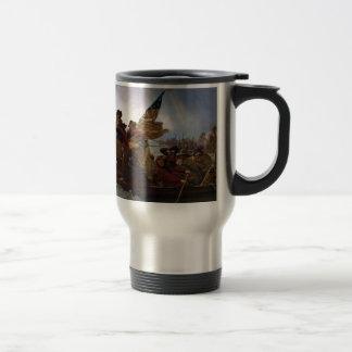 Washington Crossing the Delaware - Vintage US Art Travel Mug