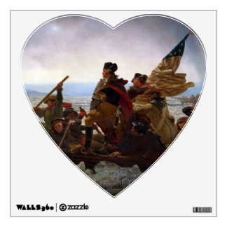 Washington Crossing the Delaware Wall Decal