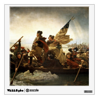 Washington Crossing the Delaware Wall Sticker
