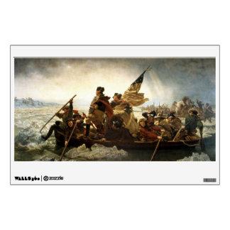 Washington Crossing the Delaware Wall Sticker