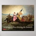 Washington Cruz-Que viste el poster de Delaware Póster