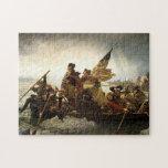 Washington cruza el río Delaware Rompecabeza