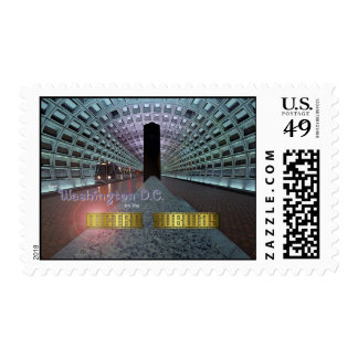 Washington D.C. and the Metro Subway Postage Stamps