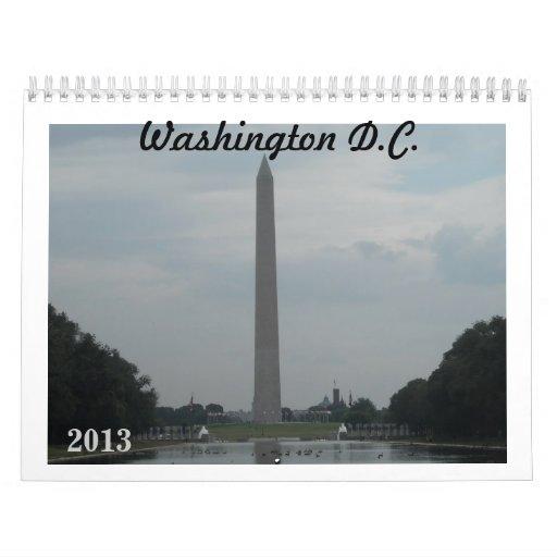 Washington D.C. Calendar Calendario