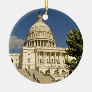 Washington D.C. Capitol Building Ceramic Ornament