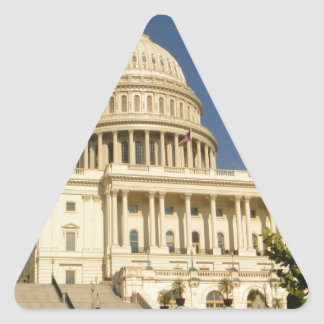 Washington D.C. Capitol Building Triangle Sticker