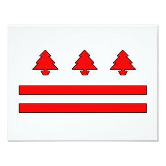 washington d.c. christmas invitations