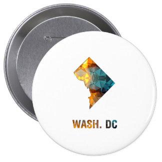 Washington D C del mapa del estado del mosaico del Pins