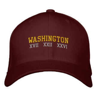 Washington D.C. Embroidered Hat