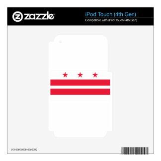 Washington, D.C. Flag iPod Touch 4G Skins