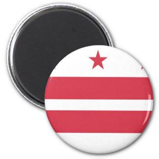 Washington D.C. Flag Refrigerator Magnet
