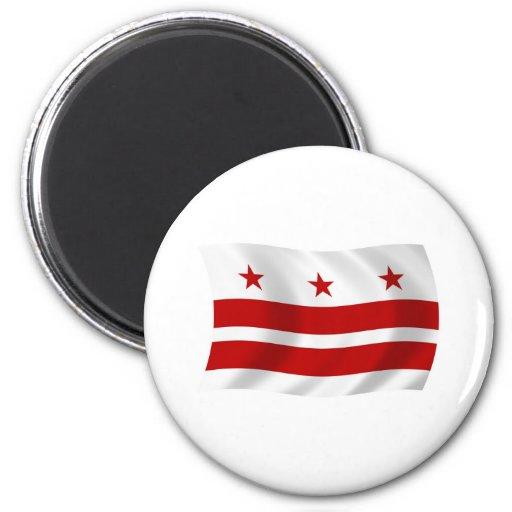 Washington D.C. Flag Magnet Imanes
