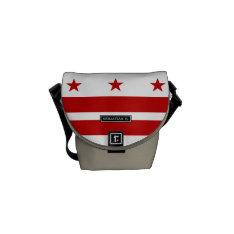 Washington D.c. Flag Messenger Bag at Zazzle