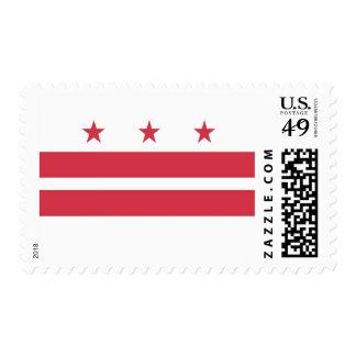 Washington D.C. Flag Postage Stamp