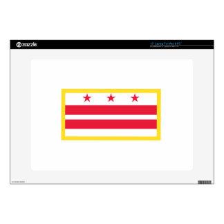 "Washington, D.C. Flag Skins For 15"" Laptops"