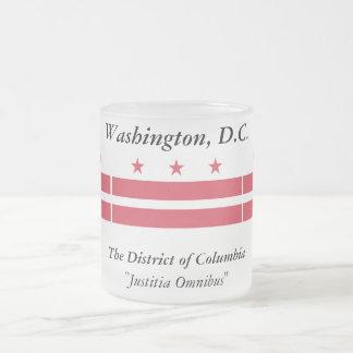 Washington D.C. Flag Taza De Cristal
