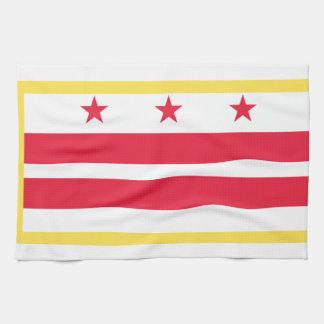 Washington, D.C. Flag Toallas De Mano