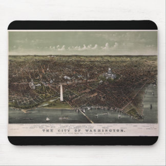 Washington D.C. From Potomac Looking North (1892) Mouse Pad