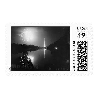 Washington D.C.; July 5th, 1939, Fireworks Stamp