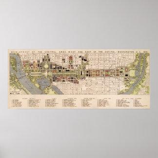 Washington D.C. Mall Plan (1941) Impresiones