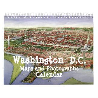 Washington D.C. Maps and Photographs Calendar