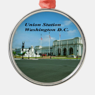 Washington D.C. Metal Ornament