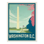 Washington, D.C. - Our Nation&#39;s Capital Postcard<br><div class='desc'>Anderson Design Group is an award-winning illustration and design firm in Nashville,  Tennessee. Founder Joel Anderson directs a team of talented artists to create original poster art that looks like classic vintage advertising prints from the 1920s to the 1960s.</div>