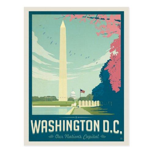 Washington DC _ Our Nations Capital Postcard