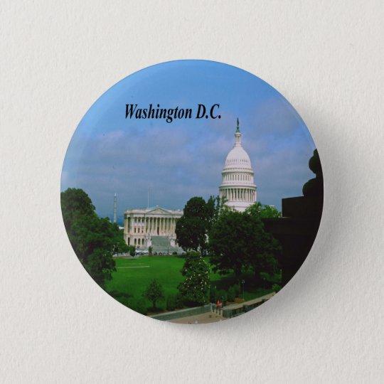 Washington D.C. Pinback Button