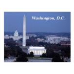 Washington, D.C. Postcard Tarjeta Postal