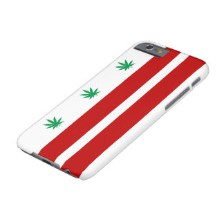 Washington D.C. Pot Leaf Flag Barely There iPhone 6 Case