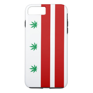 Washington D.C. Pot Leaf Flag iPhone 7 Plus Case