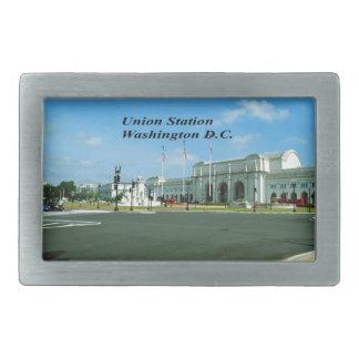 Washington D.C. Rectangular Belt Buckle