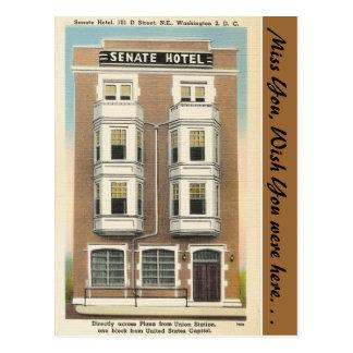 Washington D.C., Senate Hotel Postcard