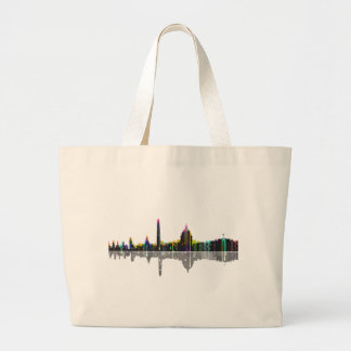 Washington, D.C. Skyline Large Tote Bag