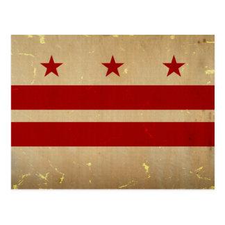 Washington, D.C. State Flag VINTAGE Postcard