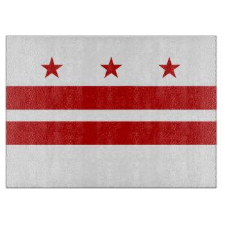 Washington, D.C. State Flag WDC Cutting Board
