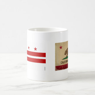Washington, D.C. State Flag WDC Coffee Mug