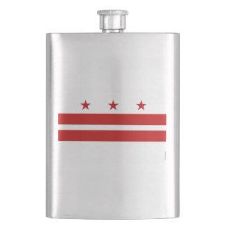 Washington, D.C. State Flag WDC Flask