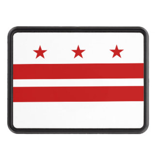 Washington, D.C. State Flag WDC Hitch Cover