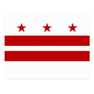 Washington, D.C. State Flag WDC Postcard