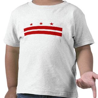 Washington, D.C. State Flag WDC T Shirt
