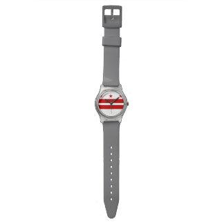 Washington, D.C. State Flag WDC Wrist Watches