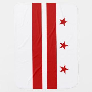 Washington, D.C. State Flag WDC Swaddle Blankets