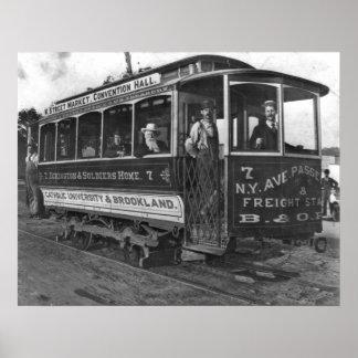 Washington, D.C. Street Car 1890 Posters