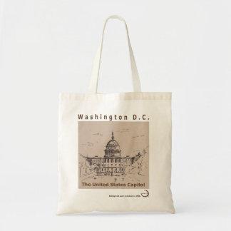 Washington D.C, tote bag